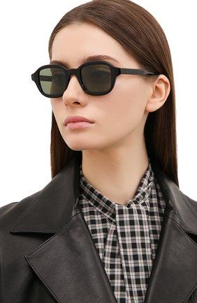 Женские солнцезащитные очки ÉTUDES черного цвета, арт. ILLUSI0N BLACK   Фото 2