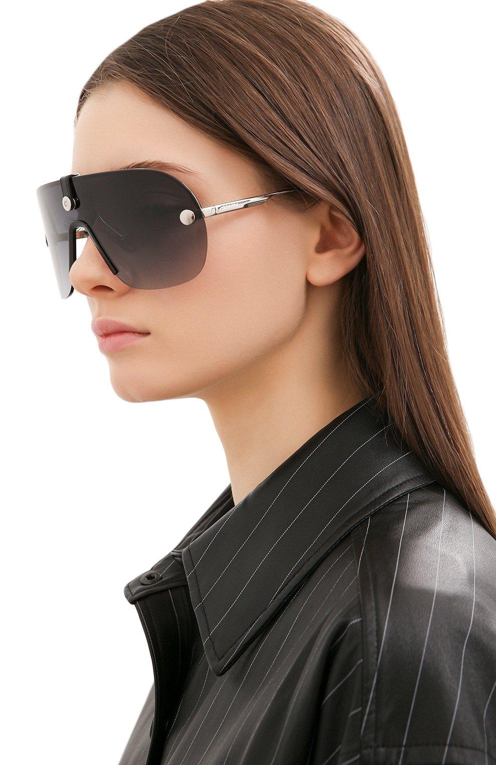 Женские солнцезащитные очки + клип CARRERA черного цвета, арт. CA EPICA II 010 | Фото 2