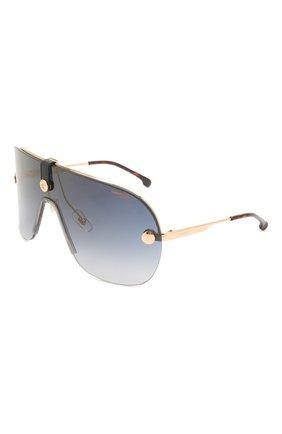 Женские солнцезащитные очки + клип CARRERA золотого цвета, арт. CA EPICA II LKS | Фото 1 (Очки форма: Маска; Тип очков: С/з; Оптика Гендер: оптика-унисекс)