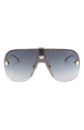 Женские солнцезащитные очки + клип CARRERA золотого цвета, арт. CA EPICA II LKS | Фото 6 (Очки форма: Маска; Тип очков: С/з; Оптика Гендер: оптика-унисекс)