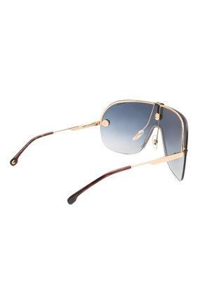 Женские солнцезащитные очки + клип CARRERA золотого цвета, арт. CA EPICA II LKS | Фото 7 (Очки форма: Маска; Тип очков: С/з; Оптика Гендер: оптика-унисекс)