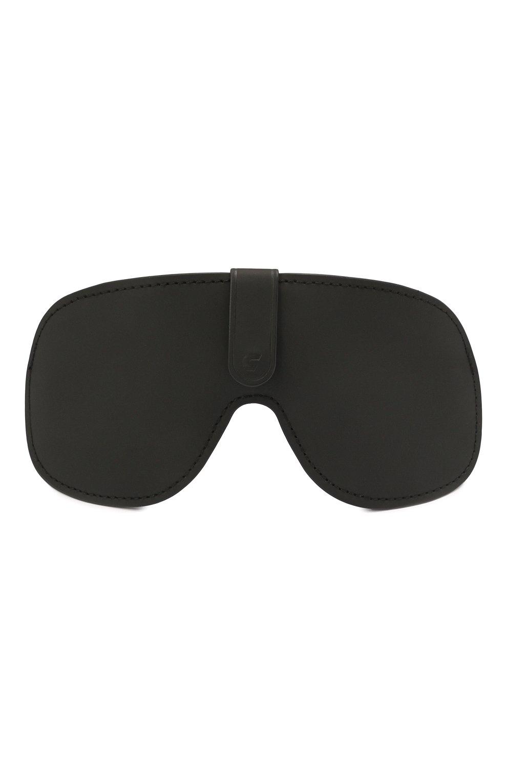 Женские солнцезащитные очки + клип CARRERA золотого цвета, арт. CA EPICA II LKS | Фото 9 (Очки форма: Маска; Тип очков: С/з; Оптика Гендер: оптика-унисекс)