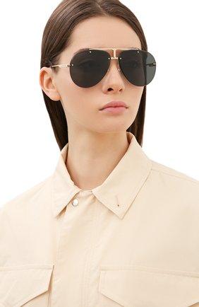 Женские солнцезащитные очки CARRERA черного цвета, арт. CARRERA 1032 J5G | Фото 2