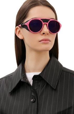 Женские солнцезащитные очки CARRERA розового цвета, арт. HYPERFIT 19 QK0 | Фото 2