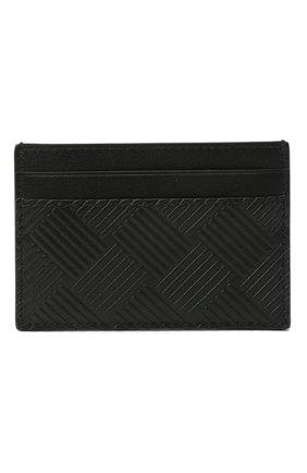 Мужской кожаный футляр для кредитных карт BOTTEGA VENETA черного цвета, арт. 635064/V0SQ3 | Фото 1