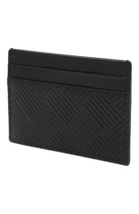 Мужской кожаный футляр для кредитных карт BOTTEGA VENETA черного цвета, арт. 635064/V0SQ3 | Фото 2