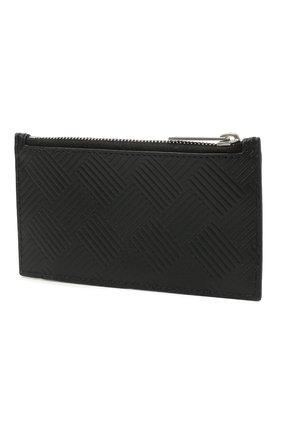 Мужской кожаный футляр для кредитных карт BOTTEGA VENETA черного цвета, арт. 657125/V0SQ3 | Фото 2