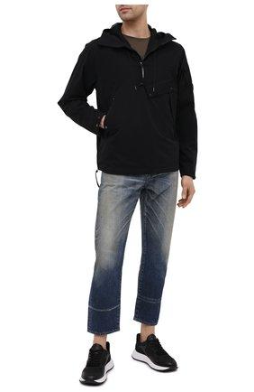 Мужская анорак C.P. COMPANY черного цвета, арт. 10CM0W016A-004117A | Фото 2