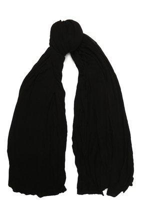 Мужской шарф из вискозы TRANSIT черного цвета, арт. SCAUTRN5001 | Фото 1
