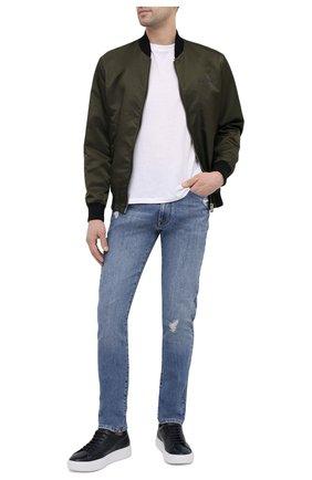 Мужские джинсы ICEBERG голубого цвета, арт. 21E I1P0/2201/6006 | Фото 2
