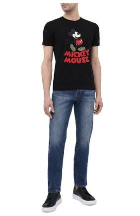 Мужские джинсы ICEBERG синего цвета, арт. 21E I1P0/2801/6008 | Фото 2