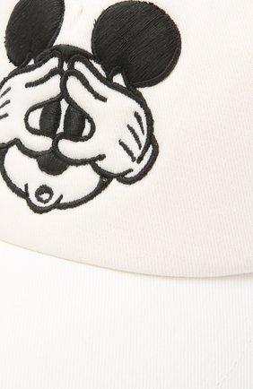 Мужской хлопковая бейсболка ICEBERG белого цвета, арт. 21E I1P1/7101/6920 | Фото 3