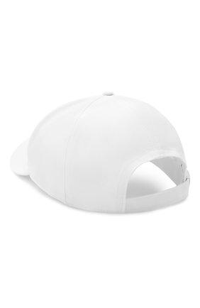 Мужской хлопковая бейсболка ICEBERG белого цвета, арт. 21E I1P1/7103/6920 | Фото 2