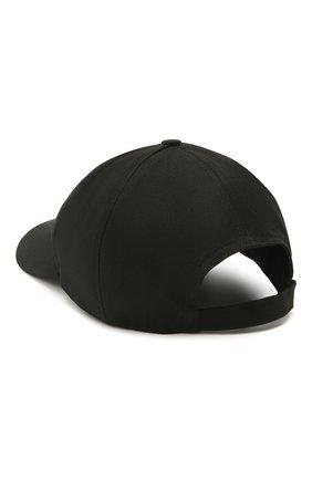 Мужской хлопковая бейсболка ICEBERG черно-белого цвета, арт. 21E I1P1/7103/6920   Фото 2