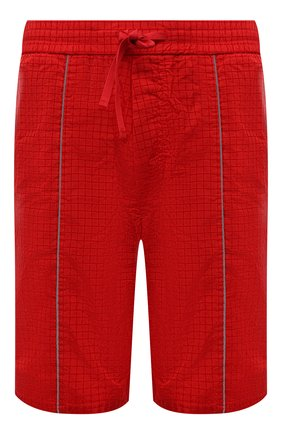 Мужские шорты ICEBERG красного цвета, арт. 21E I1P0/D060/5145 | Фото 1 (Длина Шорты М: До колена; Материал внешний: Синтетический материал; Мужское Кросс-КТ: Шорты-одежда; Принт: Без принта; Стили: Спорт-шик)