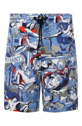 Мужские хлопковые шорты ICEBERG разноцветного цвета, арт. 21E I1P0/D070/0088 | Фото 1