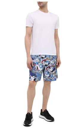 Мужские хлопковые шорты ICEBERG разноцветного цвета, арт. 21E I1P0/D070/0088 | Фото 2