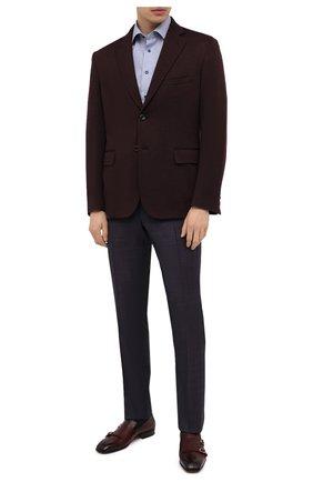 Мужская хлопковая сорочка ETON синего цвета, арт. 1000 02249 | Фото 2