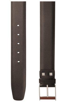 Мужской кожаный ремень ZILLI коричневого цвета, арт. MJL-CLAQE-01030/0057/115-120 | Фото 2