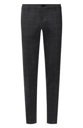 Мужские шерстяные брюки DOLCE & GABBANA серого цвета, арт. GY7BMT/FQ2LY | Фото 1