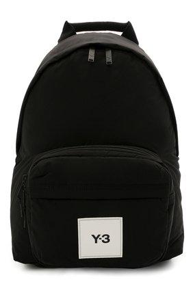 Мужской текстильный рюкзак Y-3 черного цвета, арт. GT8915/M | Фото 1