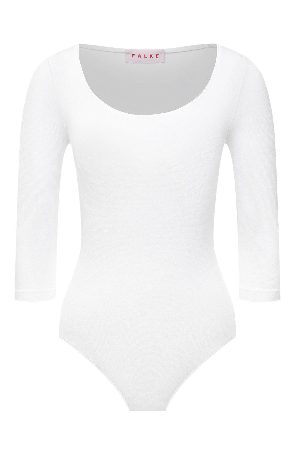Женское боди FALKE белого цвета, арт. 40932   Фото 1