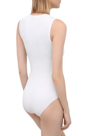 Женское боди FALKE белого цвета, арт. 40928 | Фото 3