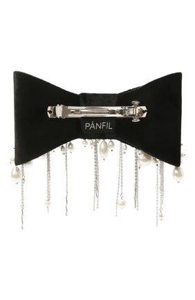 Женская бант PANFIL черного цвета, арт. 0-V8-Prl | Фото 2