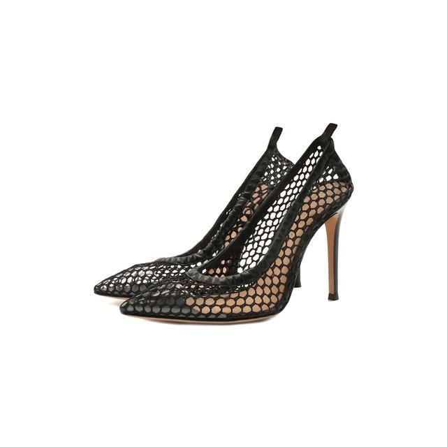 Комбинированные туфли Ginnene Gianvito Rossi
