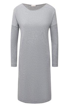 Женская сорочка из вискозы HANRO серого цвета, арт. 076388 | Фото 1