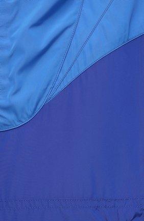 Женская анорак ISABEL MARANT ETOILE синего цвета, арт. MA0930-21P001W/RICHILI | Фото 5 (Кросс-КТ: Куртка, Ветровка; Рукава: Длинные; Женское Кросс-КТ: Куртка-спорт; Материал внешний: Синтетический материал; Стили: Спорт-шик; Длина (верхняя одежда): Короткие)