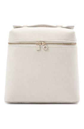 Женский рюкзак extra pocket LORO PIANA светло-бежевого цвета, арт. FAL8244/AMIS | Фото 1