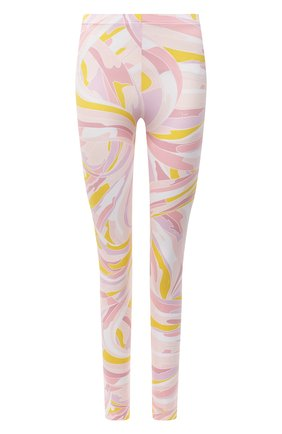 Женские леггинсы EMILIO PUCCI розового цвета, арт. 1EWX05/1E797 | Фото 1