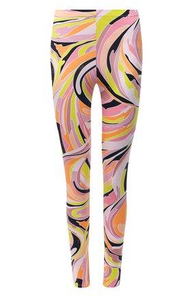 Женские леггинсы EMILIO PUCCI разноцветного цвета, арт. 1EWX05/1E797 | Фото 1