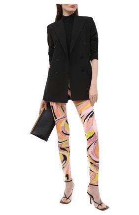 Женские леггинсы EMILIO PUCCI разноцветного цвета, арт. 1EWX05/1E797 | Фото 2