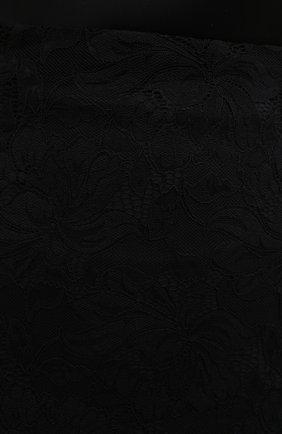 Женская юбка PACO RABANNE черного цвета, арт. 20HJJU167PA0170 | Фото 5