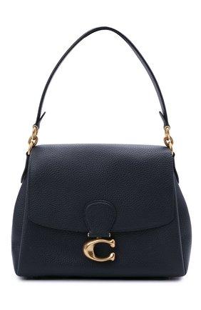 Женская сумка may COACH темно-синего цвета, арт. 3954   Фото 1