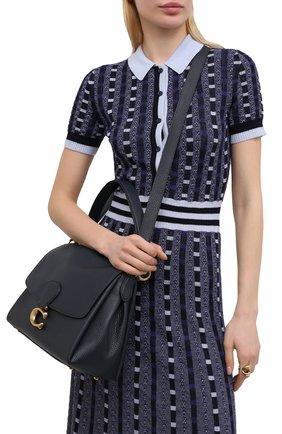 Женская сумка may COACH темно-синего цвета, арт. 3954   Фото 2