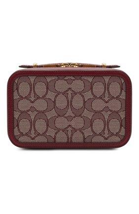 Женская поясная сумка alie COACH бордового цвета, арт. 4813 | Фото 1