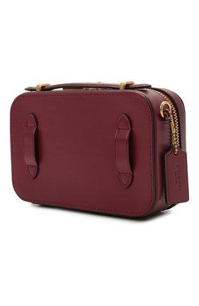 Женская поясная сумка alie COACH бордового цвета, арт. 4813 | Фото 3