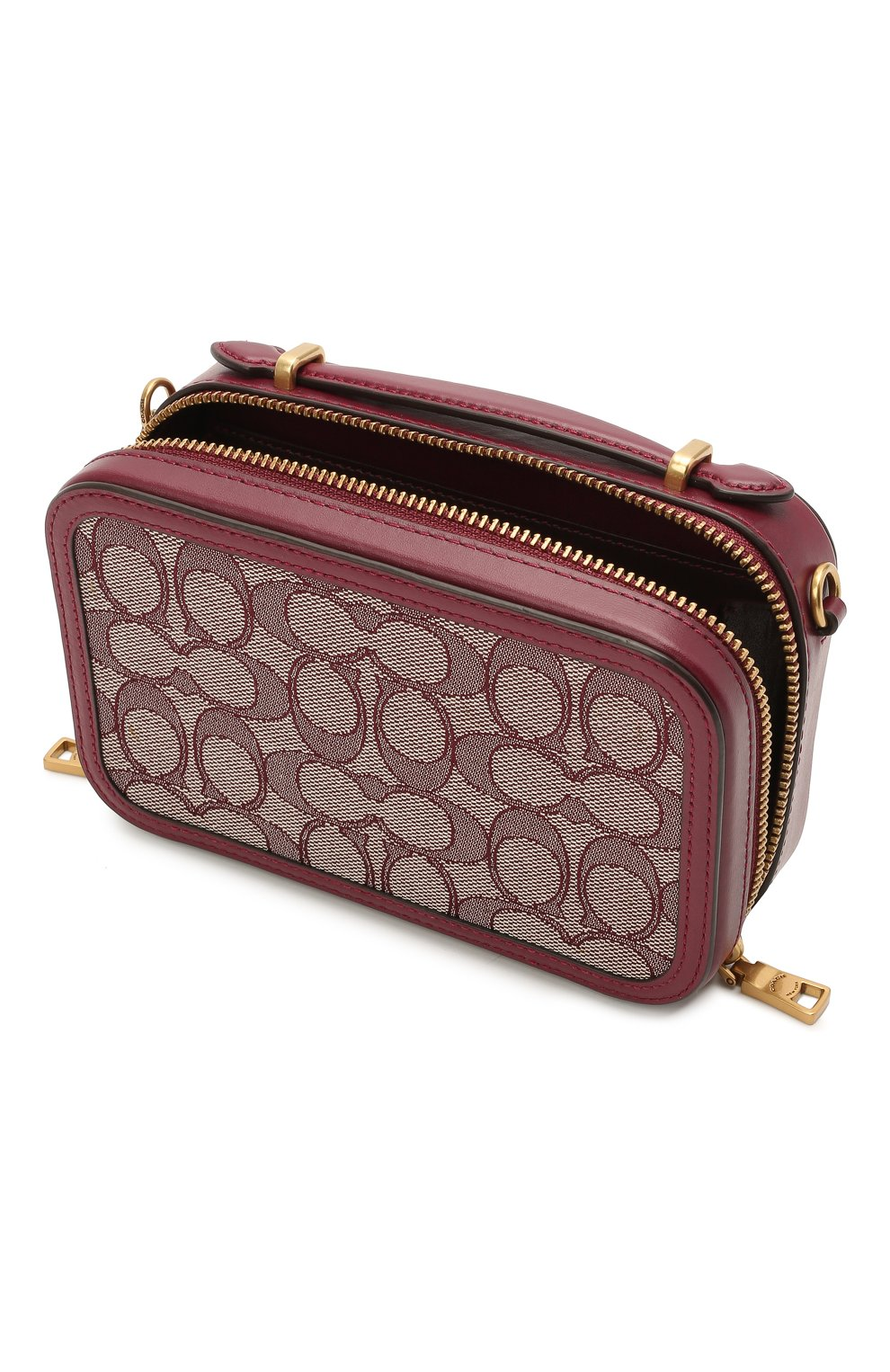 Женская поясная сумка alie COACH бордового цвета, арт. 4813 | Фото 4