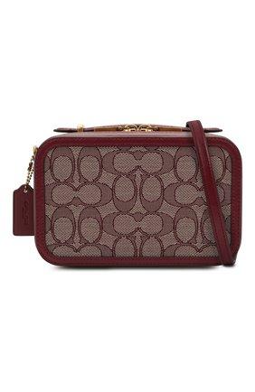 Женская поясная сумка alie COACH бордового цвета, арт. 4813 | Фото 5