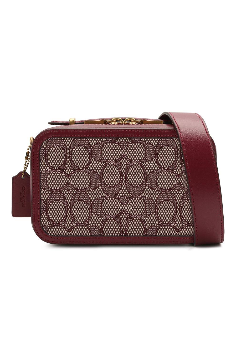 Женская поясная сумка alie COACH бордового цвета, арт. 4813 | Фото 7