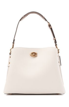 Женская сумка willow COACH светло-бежевого цвета, арт. C2590   Фото 1