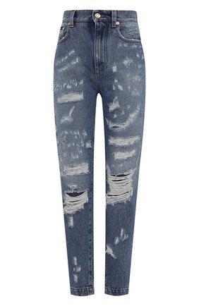 Женские джинсы DOLCE & GABBANA синего цвета, арт. FTBXGD/GDZ32 | Фото 1