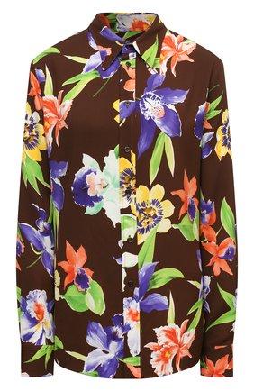 Женская рубашка из вискозы RALPH LAUREN разноцветного цвета, арт. 290844945 | Фото 1