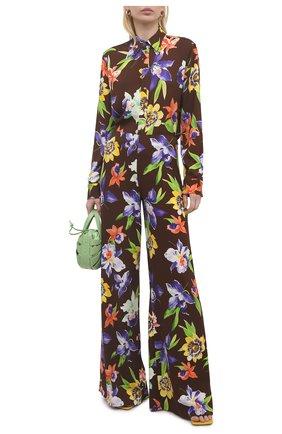 Женская рубашка из вискозы RALPH LAUREN разноцветного цвета, арт. 290844945 | Фото 2