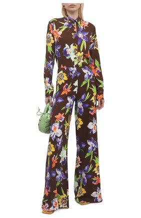 Женские брюки из вискозы RALPH LAUREN разноцветного цвета, арт. 290844015 | Фото 2