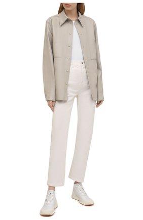 Женские текстильные кроссовки treino ADIDAS BY STELLA MCCARTNEY белого цвета, арт. FY1176 | Фото 2