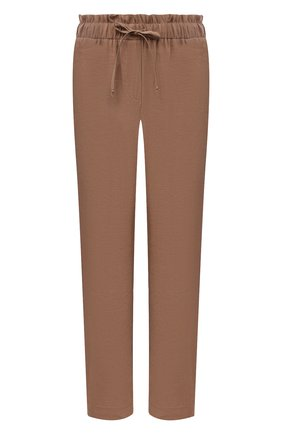 Женские брюки из вискозы PIETRO BRUNELLI бежевого цвета, арт. PN0191/VI0078 | Фото 1